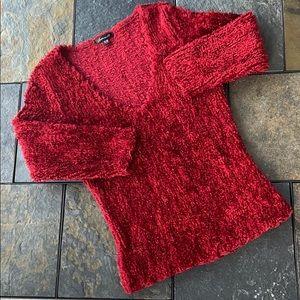 EUC Fuzzy 3/4 Length Sleeve Sweater
